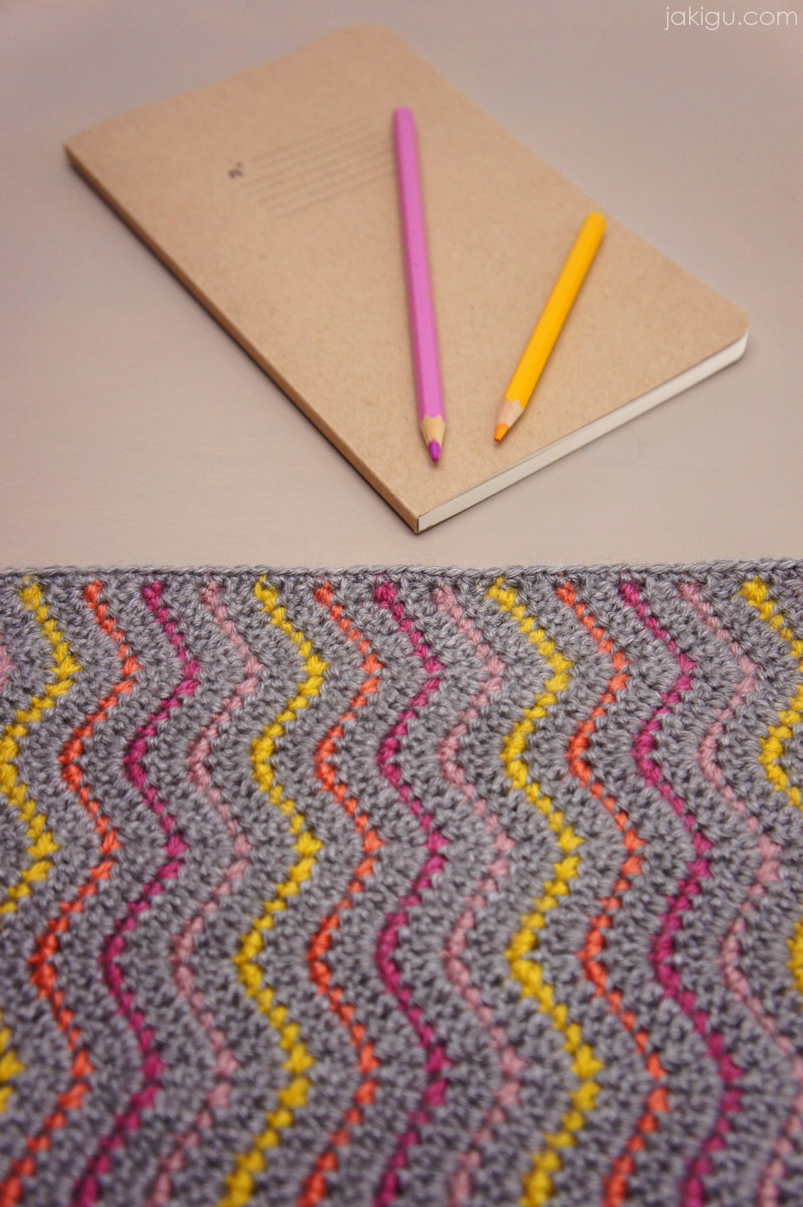 Book Cover Pattern Guide : Work in progress journal cover or clutch jakigu